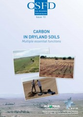 Carbon in dryland soils