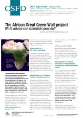 The African Great Green Wall project